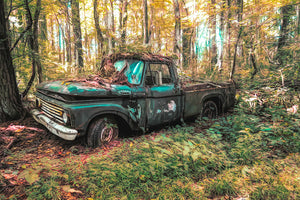 Ford in the Morning Light - Lisa Faire Graham Fine Art Photography - Pix Synergy LLC