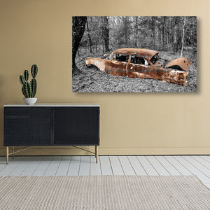 Grounded - Chevy Bel Air - Lisa Faire Graham Fine Art Photography - Pix Synergy LLC