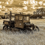Model T Wrecker (Sepia) - Lisa Faire Graham Fine Art Photography - Pix Synergy LLC