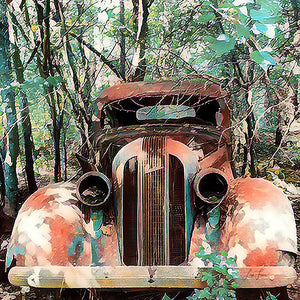 Pastel Packard - Lisa Faire Graham Fine Art Photography - Pix Synergy LLC