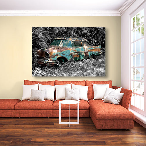 Sidelined - Chevy Bel Air - Lisa Faire Graham Fine Art Photography - Pix Synergy LLC