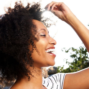 Retain Moisture with natural hair moisturiser