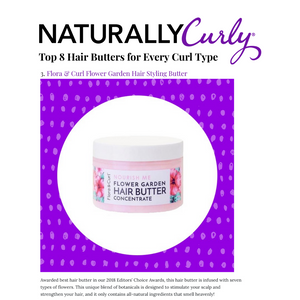 Flower Garden Hair Butter