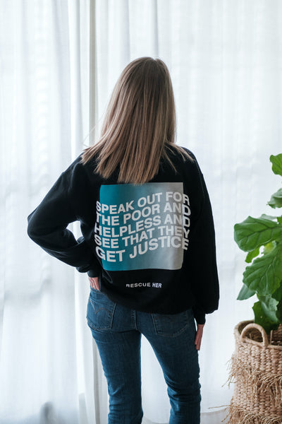 """Speak Out"" Sweatshirt"