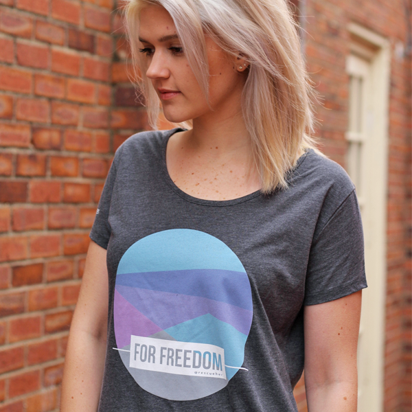 Color Block Freedom Tee
