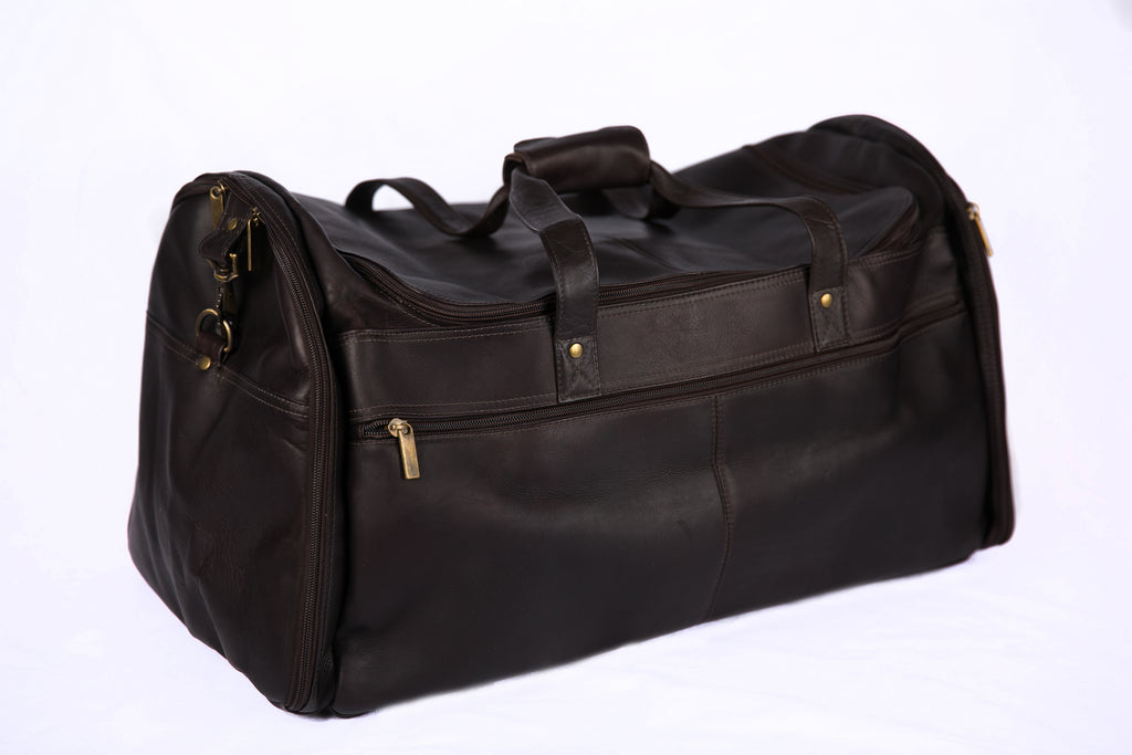Charlie Leather Duffel Bag