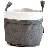 ASH RECYCLED CANVAS BUCKET