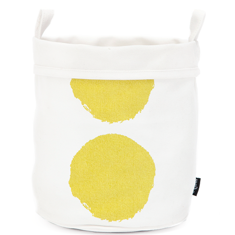 LUNA LIME RECYCLED CANVAS BUCKET