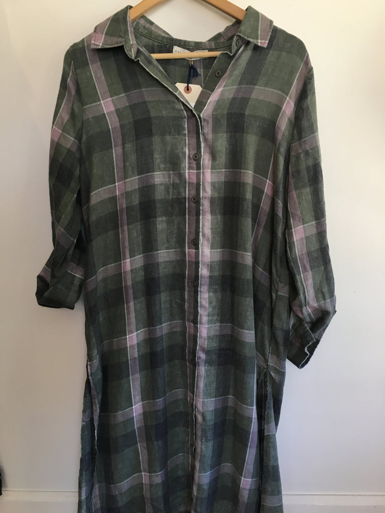 FIONA'S PLAID TUNIC