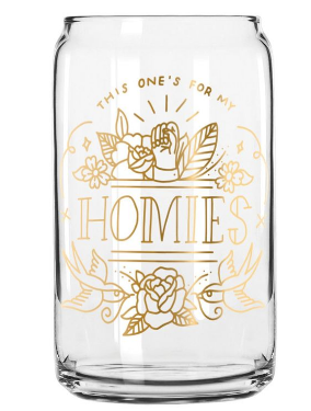 Homies Glass Can