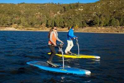Hobie Mirage Eclipse SUP pedal board action