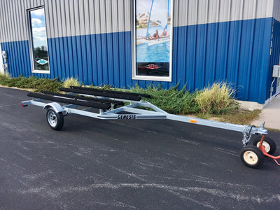 genesis hobie pro angler twin bunk trailer for sale