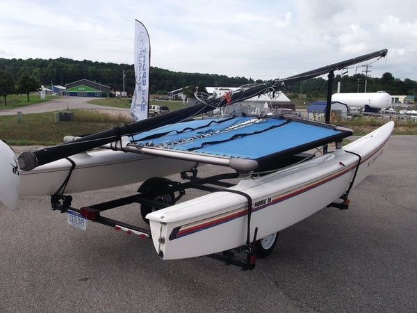 1985 Hobie Cat 16 with Trailer
