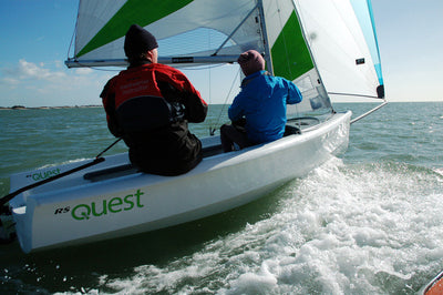 RS Quest Sailboat for Sale Aft View