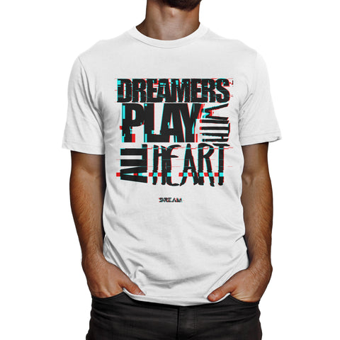 Play with All Heart  (White)
