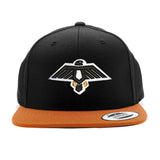 Thunderbird Snapback (Black/Orange)