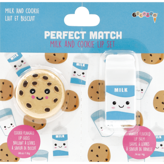 Milk and Cookies Lip Balm Set