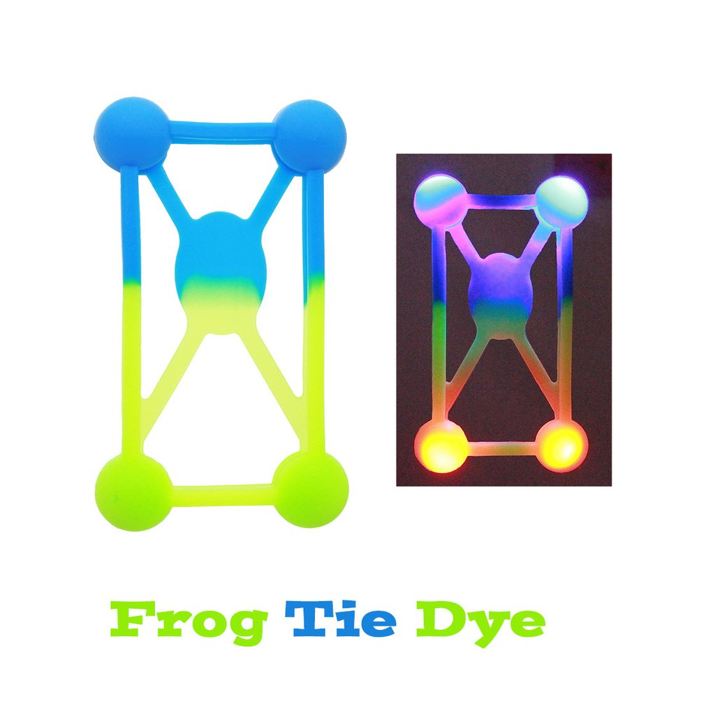 Phone Flashers - LED Phone Cases - Frog Tie Dye