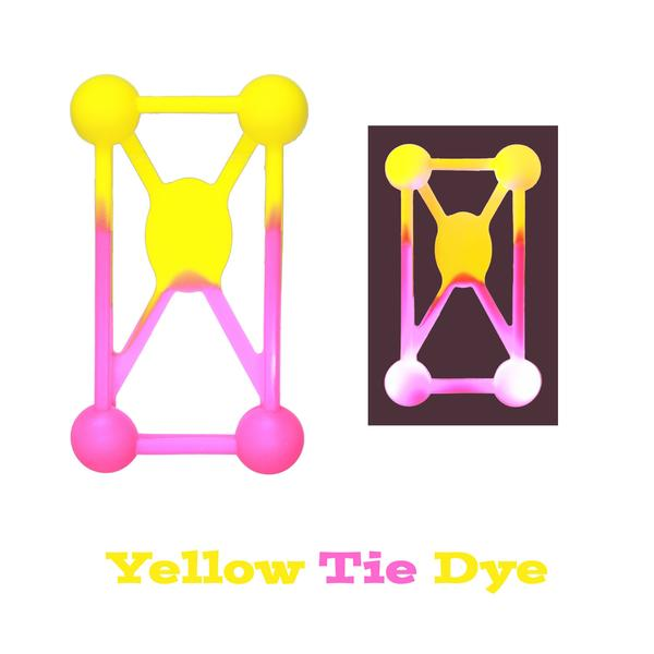 Phone Flashers - LED Phone Cases - Yellow Tie Dye