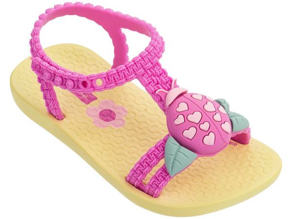 Buggy Baby Sandal Yellow/Lilac