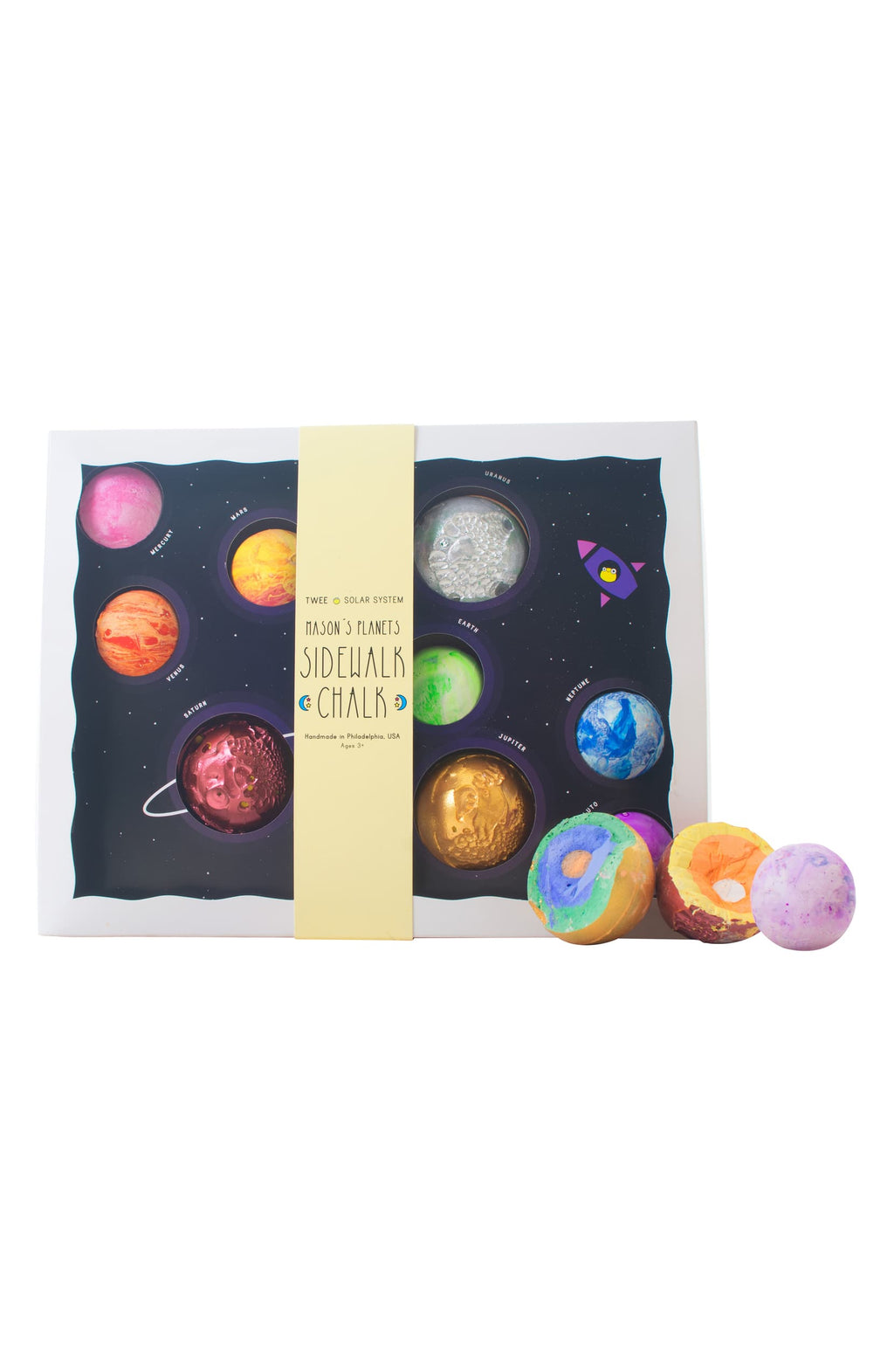 Mason's Planets 9-Piece Sidewalk Chalk Set