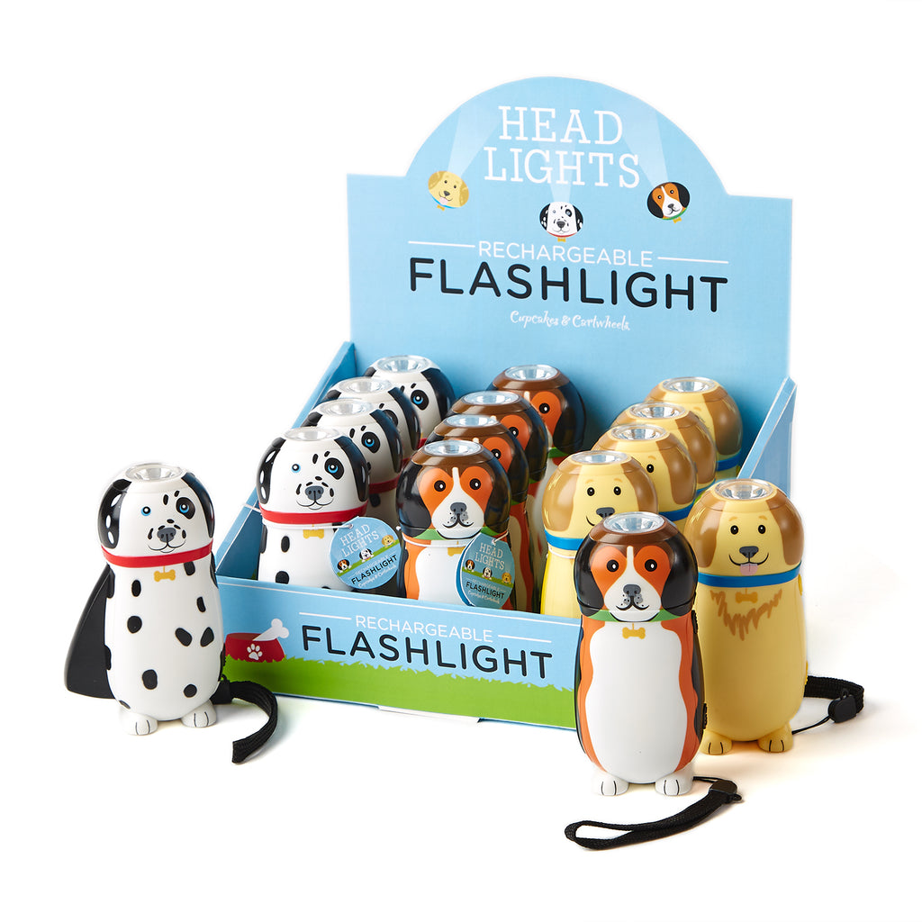 Rechargeable Dog Flash Light