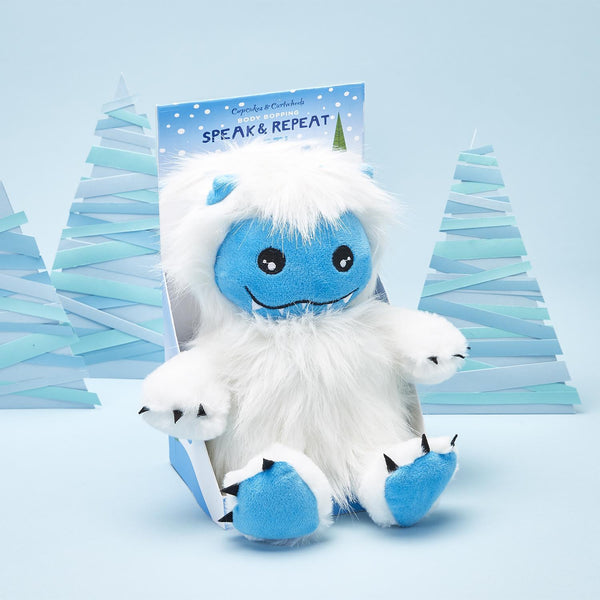 Plush Yeti Speak & Repeat