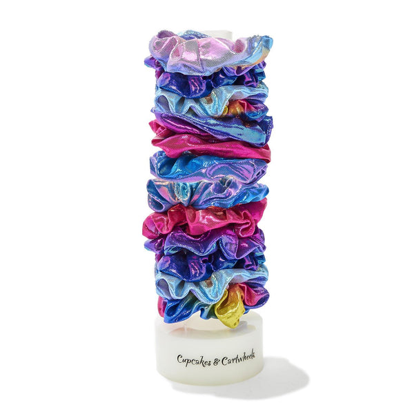 Over the Rainbow Shimmering Scrunchie