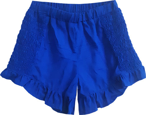 Royal Blue Breezy Short
