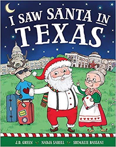 I Saw Santa in Texas Hardcover