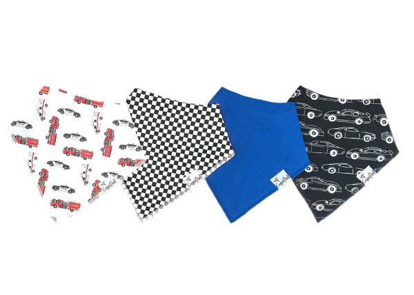 Nash Baby Bandana Bib Set (4-pack)