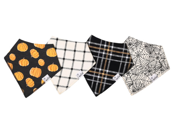 Patch Baby Bandana Bib Set (4-pack)