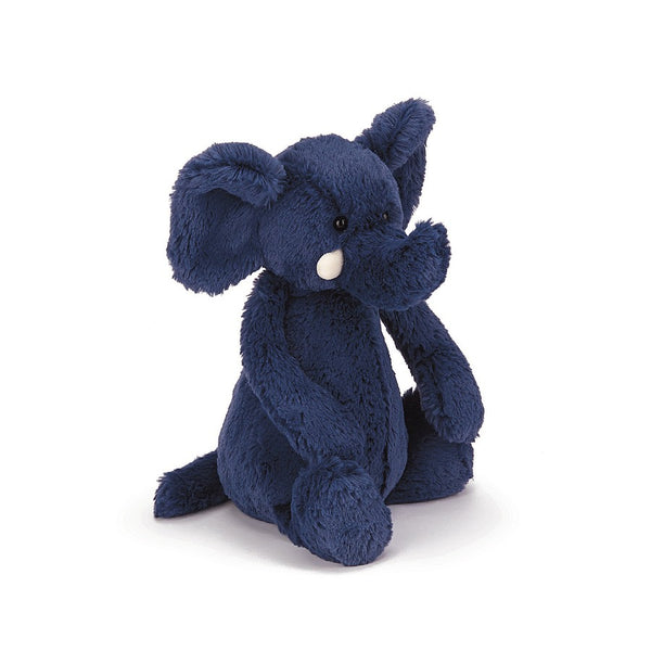 Bashful Blue Elephant - Medium 12""