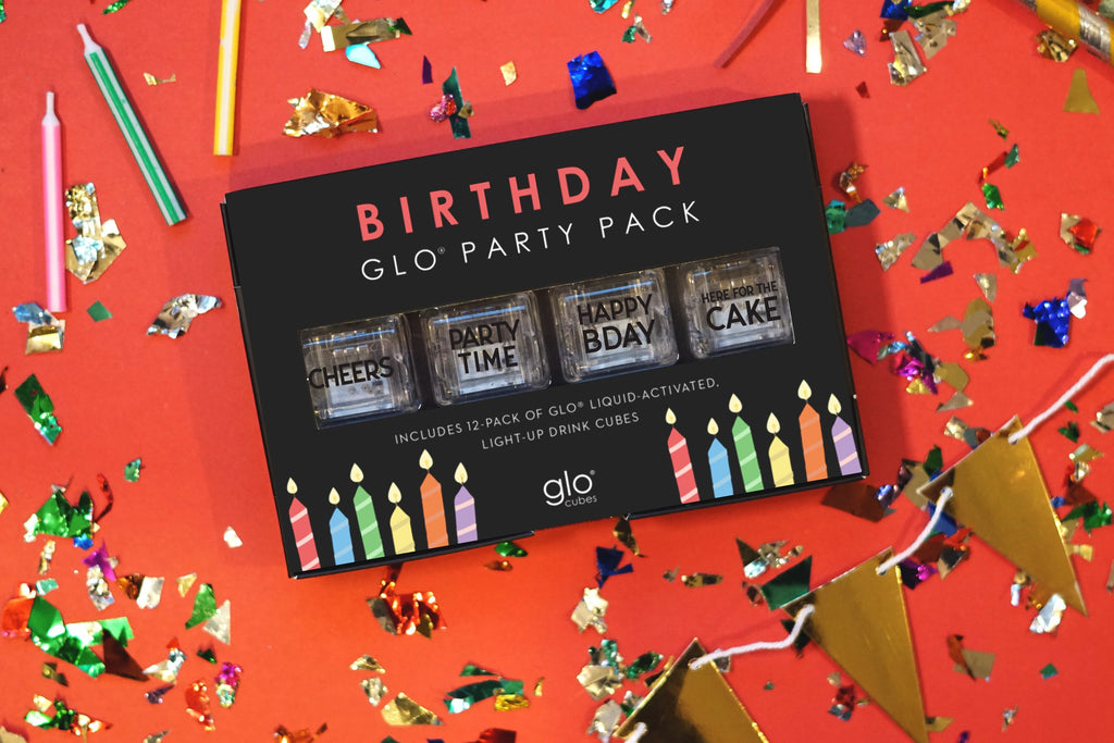 Glo Cubes - Birthday Party Pack (12-pack)