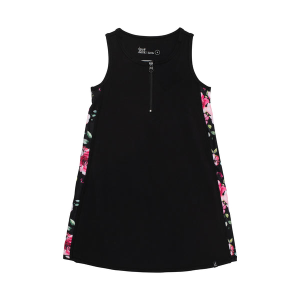 TANK DRESS WITH ELASTIC LOGO TRIM, GIRL