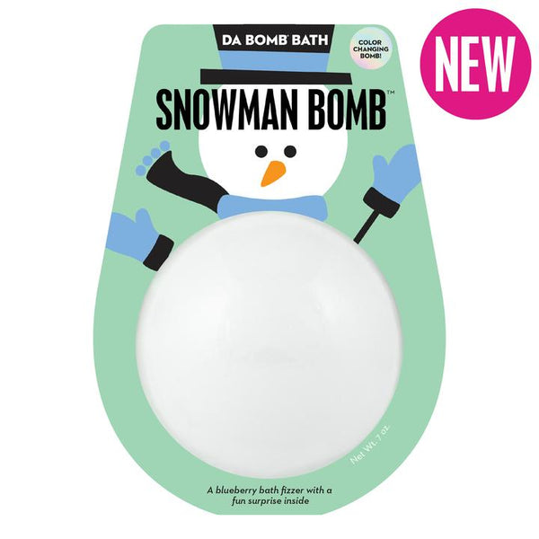 Color Changing Snowman Bomb