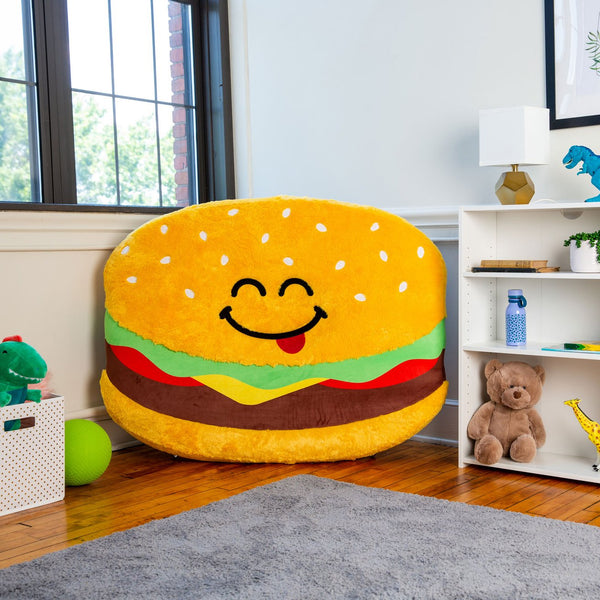 FLOOR FLOATIES PLAY SPACE CUSHIONS - CHEESEBURGER