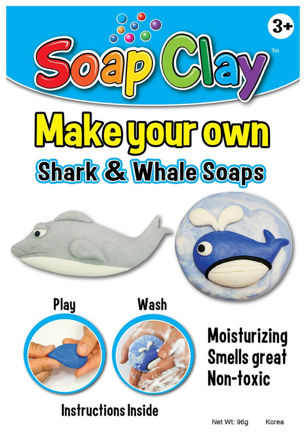 NEW! Soap Clay Kit, Sea Creatures