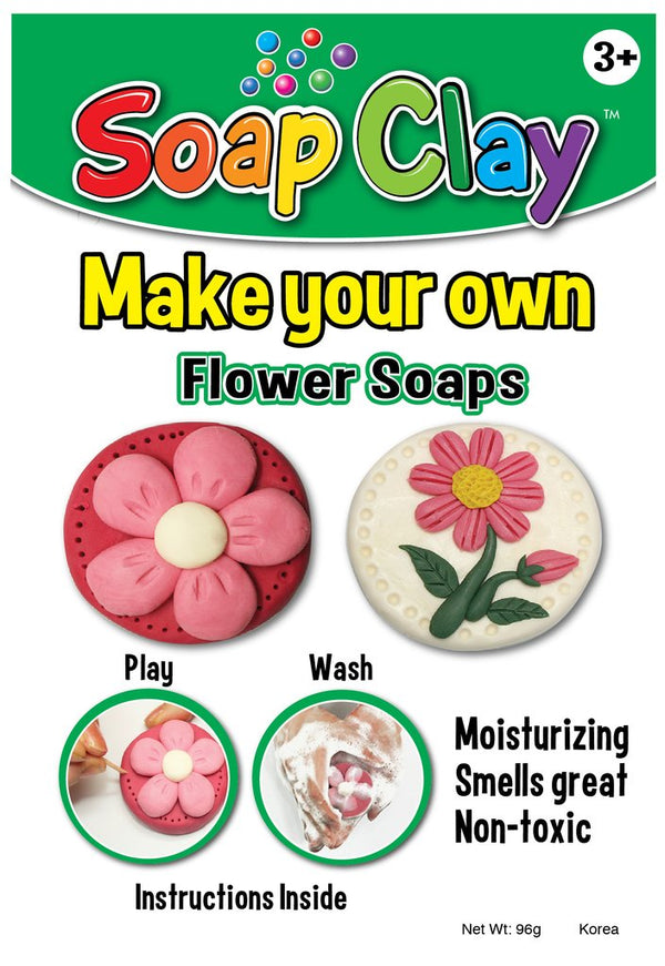 Soap Clay Kit, Flowers