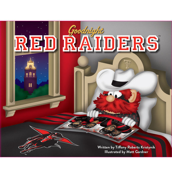 GOODNIGHT RED RAIDERS BOOK