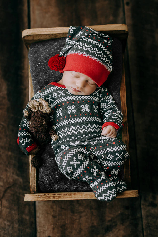 Organic Overall and Cap Set