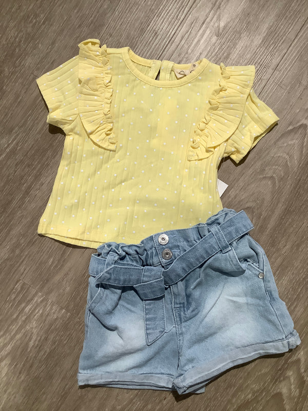 Lemon Meringue 2 piece set