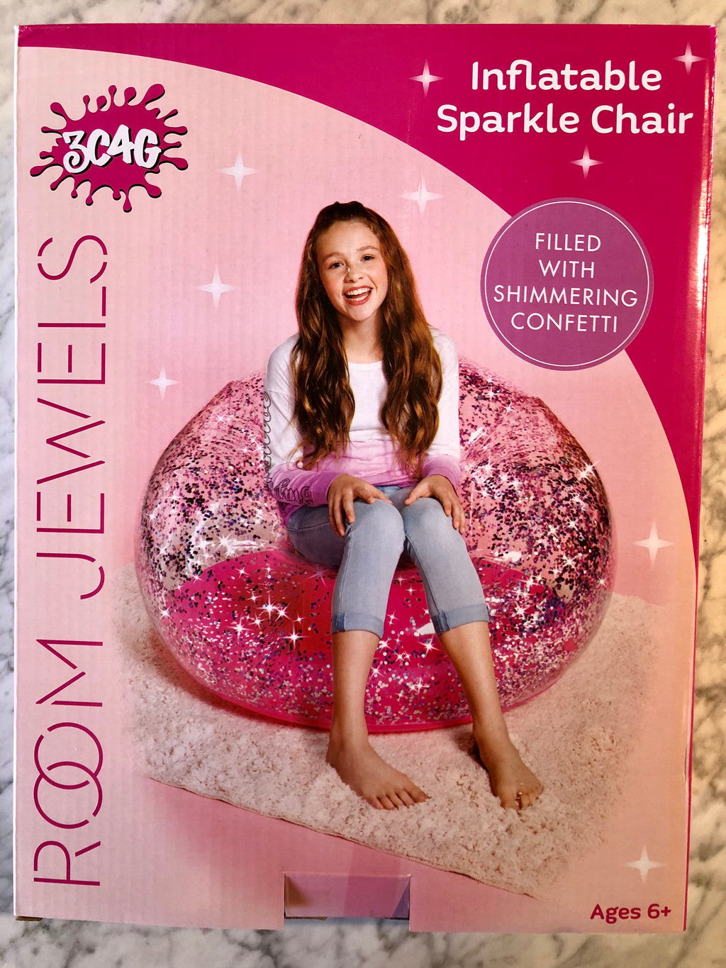 Inflatable Sparkle Chair