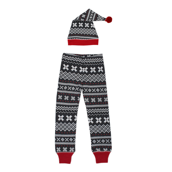 Organic Mens Holiday Joggers and Cap Set