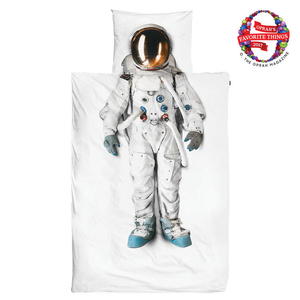 ASTRONAUT DUVET COVER + PILLOW CASE