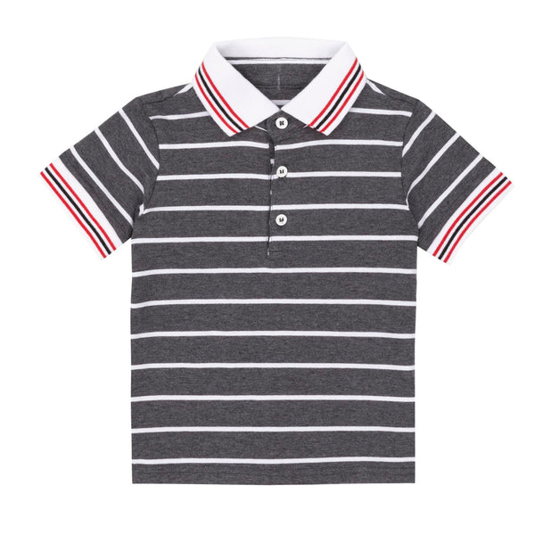 STRIPED POLO T-SHIRT, BABY BOY & BOY