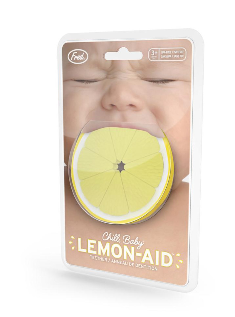 CHILL, BABY Lemon Teether
