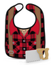 DRESSED TO SPILL - Lumberjack BIB & TEETHER SET