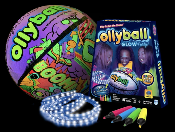 OLLYBALL GLOW PARTY!