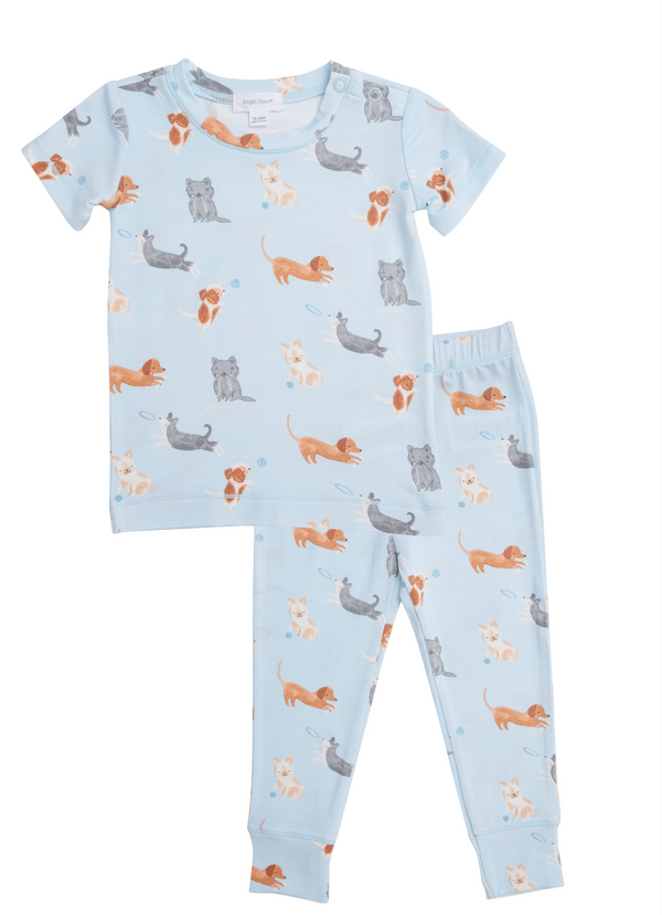 LOUNGE WEAR - PUPPY PLAY BLUE